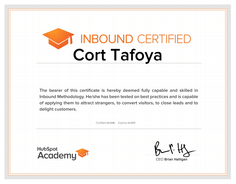 hubspot expert, trainer, bay area