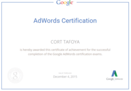 adwords trainer, expert, san francisco bay area