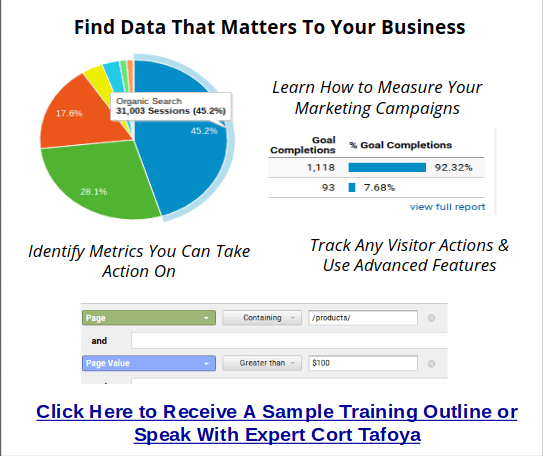 google analytics expert training